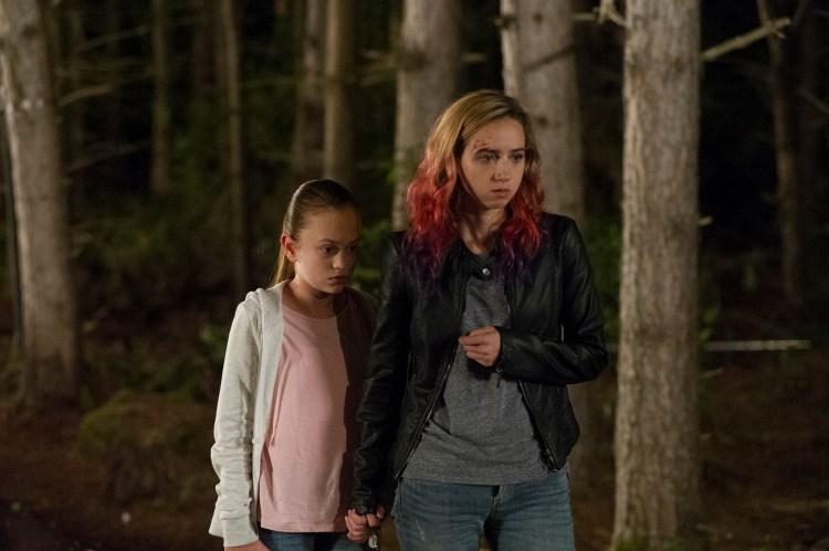Ella Balentine and Zoe Kazan in The Monster (2)