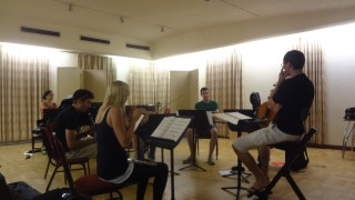 Rehearsing with Riot