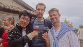 Jay, Serafim and John