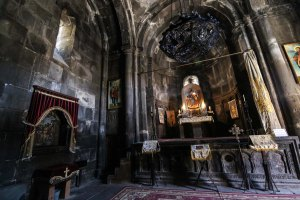 Geghard, Armenien. Foto: Johnny Friskilä