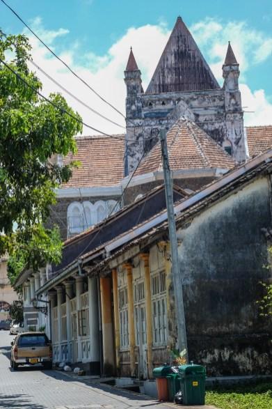 Church in Galle, Sri Lanka