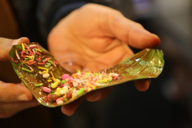 Paan at nighttime - street snack in Lahore