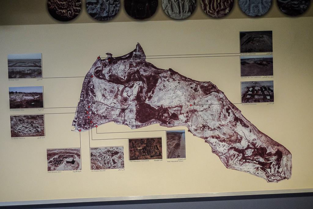 Failaka archaeological map-1
