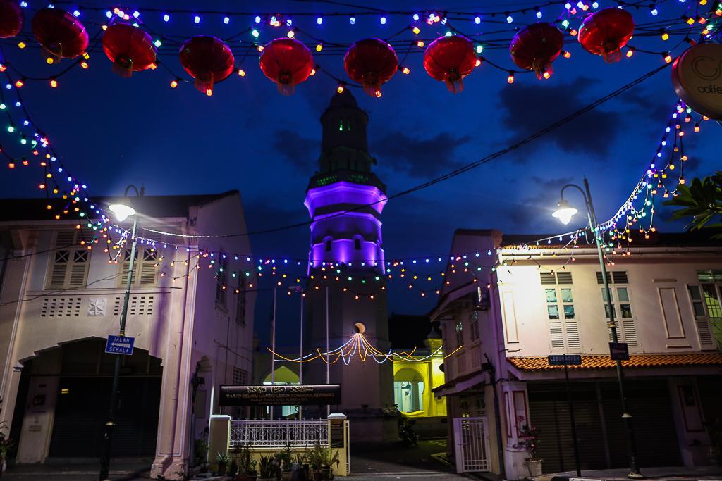 Georgetown Penang by night-1