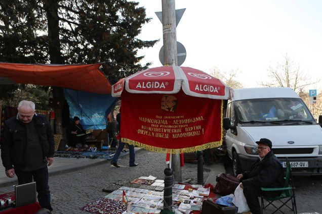 Loppmarknaden i Tbilisi