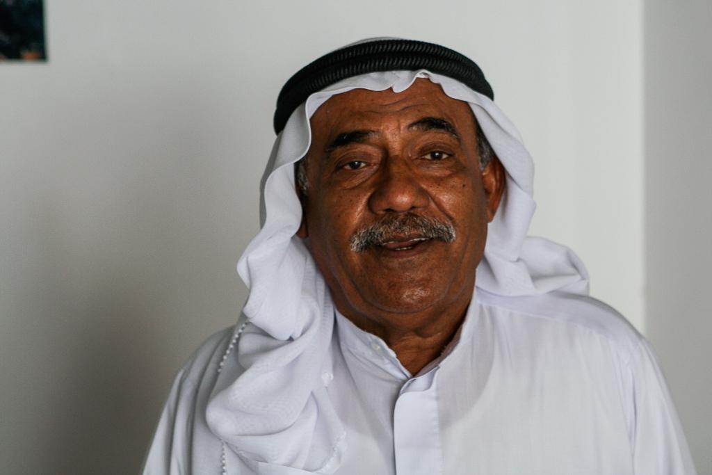 Bahrain Old Man Portrait-3856
