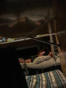 Russian Train Platskartny sleeping-5678