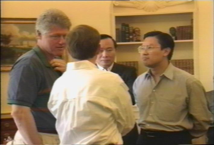Clinton, Riady, and Huang