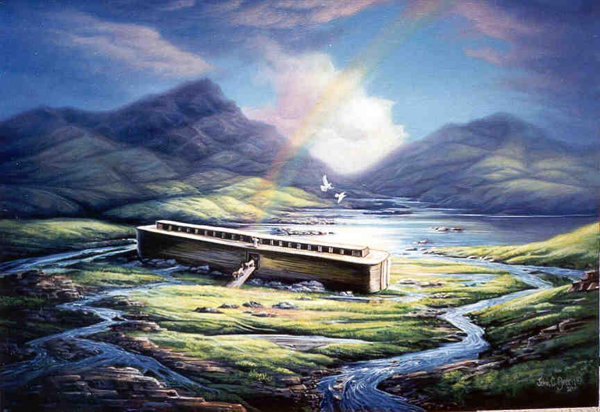 noah's ark hits land