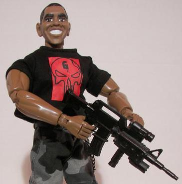 Obama Seal Doll