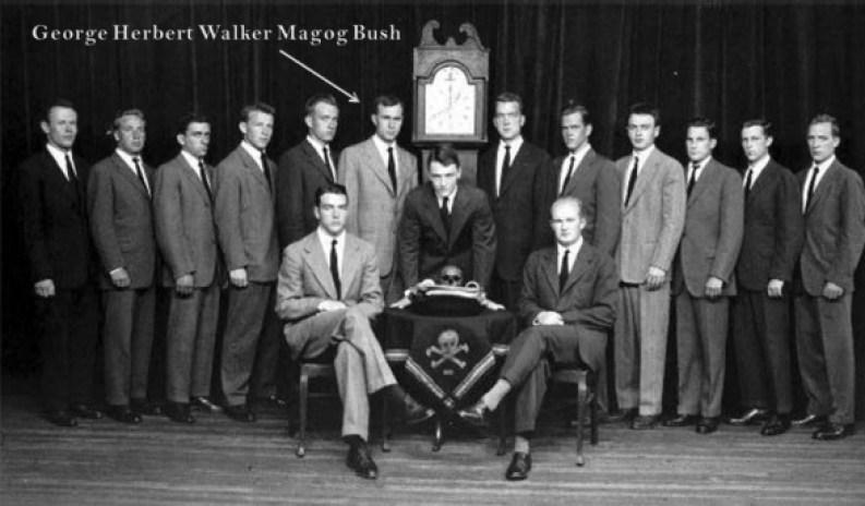 Skull and Bones c1947, GHW Bush