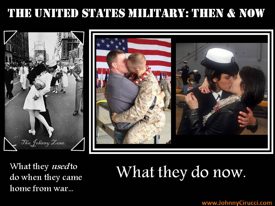 U.S. MILITARY THEN & NOW