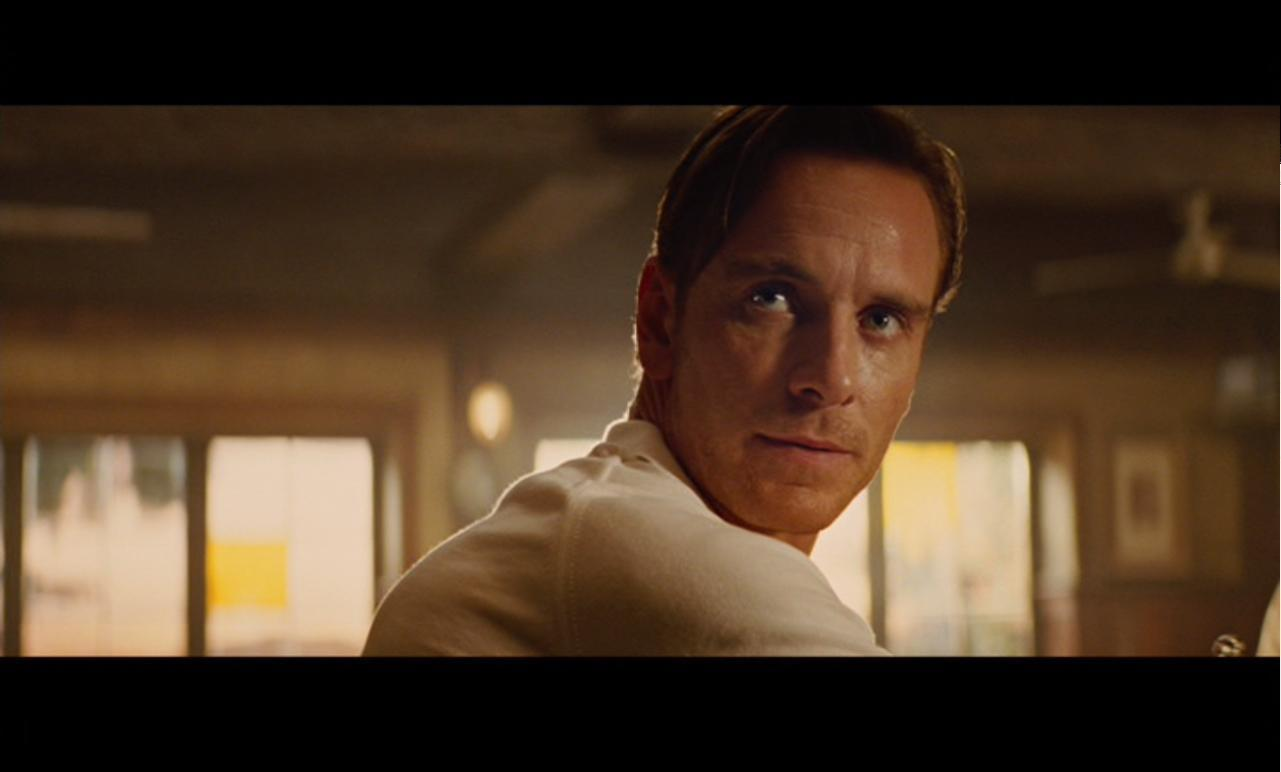 x men first class johnny cirucci fassbender is fantastic here he enters speaking passable spanish but when he takes the nazi dagger from the pig farmer and reads it his german is fast