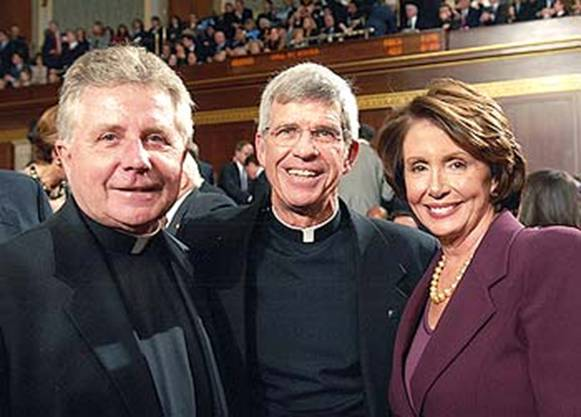 daniel chaplain, stephen privett and nancy pelosi