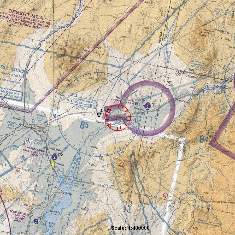 Faa Nofly Zone Over Bundy Ranch Johnny Cirucci - Faa no fly zone map