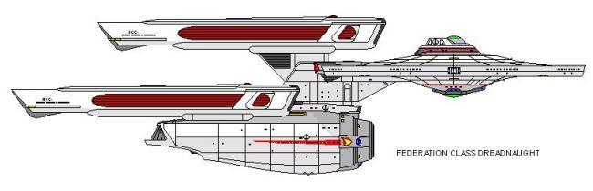 federation class dreadnaught