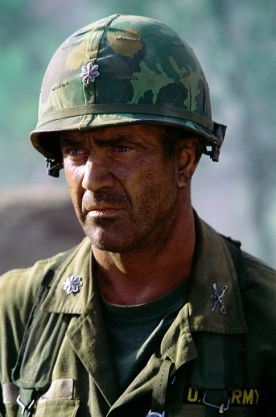 gibson in we were soldiers