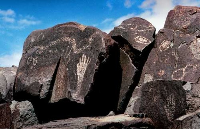 the Sacred Ridge, Three Rivers, New Mexico 01