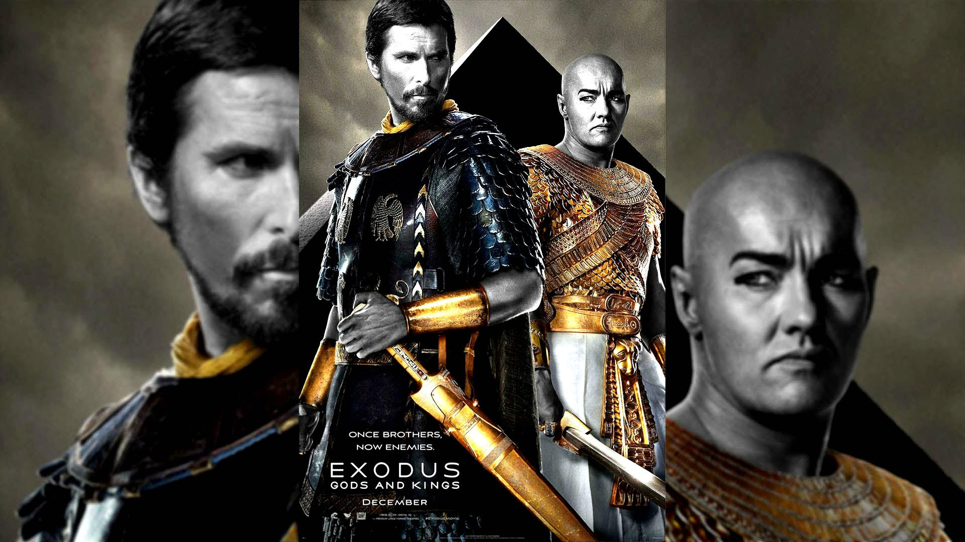 Exodus Gods and Kings Christian Bale John Turturro