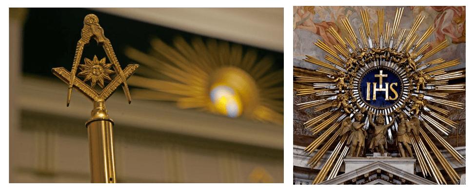 freemason jesuit sun worship