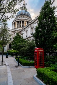 St Pauls and Phonebooth