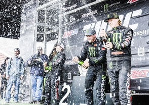 Monster Energy sweep in the Pro-4 class at Crandon
