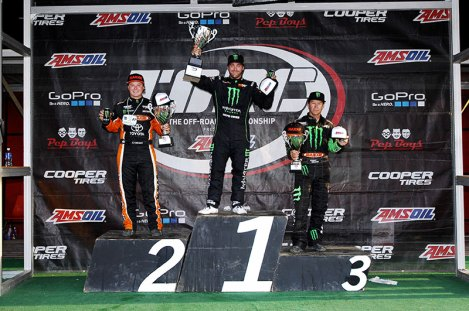 Monster Energy Pro-4 sweep.