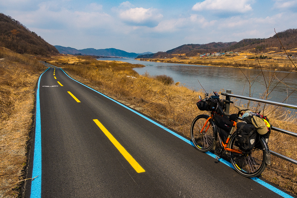 South Korea, adventure cycling, bikepacking