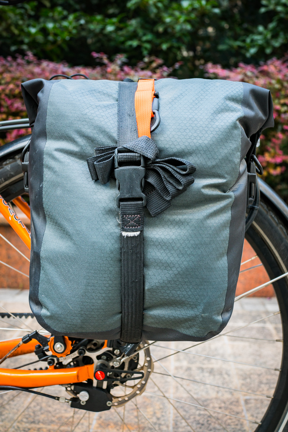 Gear Review Ortlieb Gravel Pack Johnny Isaak Adventure