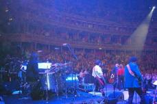 Johnny J. Blair playing with The Monkees at Royal Albert Hall