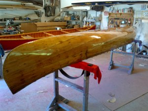 canoe polishing