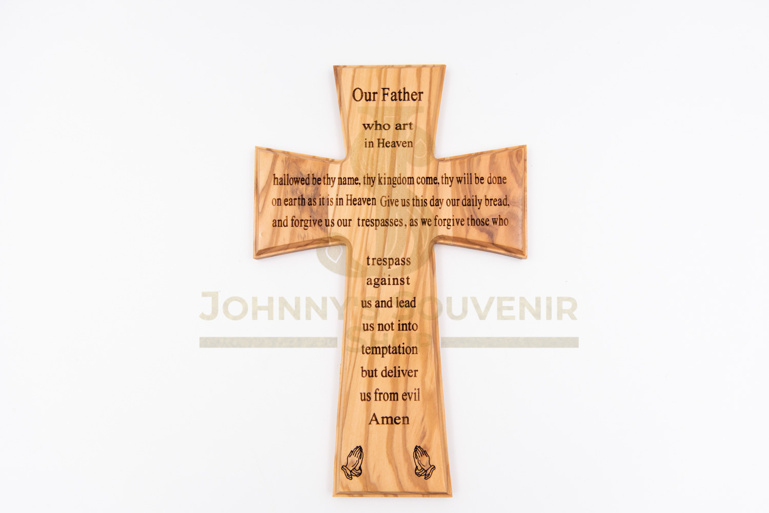 Cross with The Lord's Prayer
