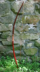 a Cherokee style bow I made for my niece