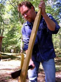 using the machete