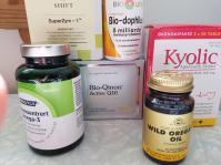 Noen av kosttilskuddene vår er bra for immunforsvaret, gir en viss beskyttelse mot mitokondrieskader, og er bra for tarmfloraen.