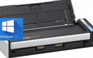 Fujitsu ScanSnap s1300 scanner working on Windows 10
