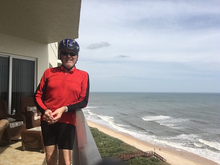 JRP after 30 mile bicycle ride