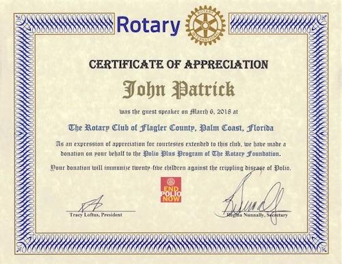 Rotart Club of Palm Coast