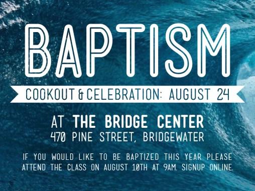 BAPTISM-2014 - Slide