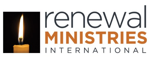 Renewal Ministries International Logo (with candle graphic)