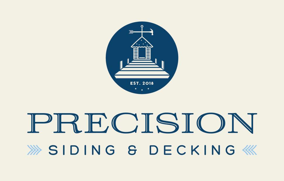 Precision Siding / Decking Logo