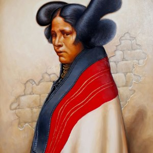Hopi Maiden with Butterfly Whorls