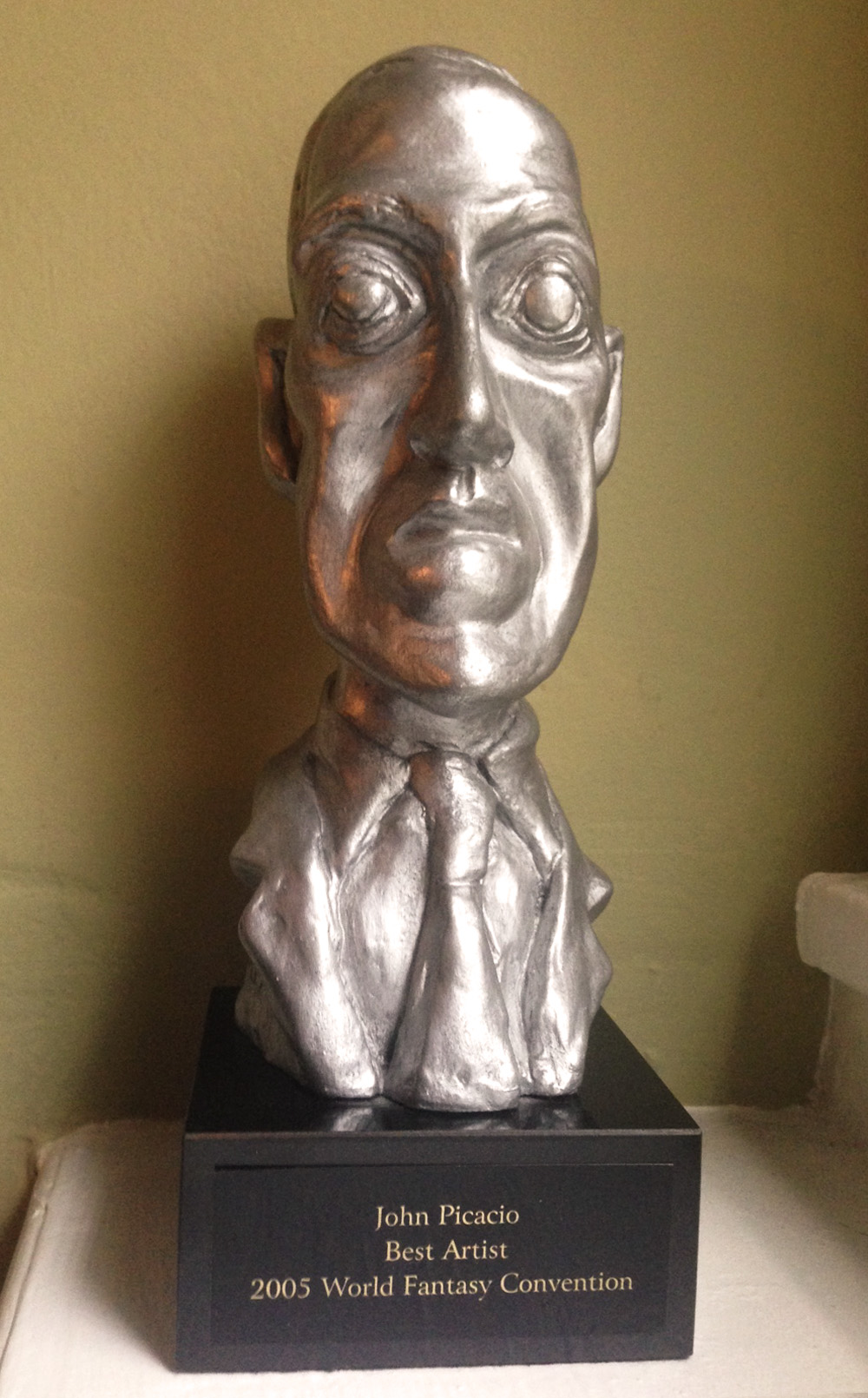 Image result for images of h.p. lovecraft fantasy award