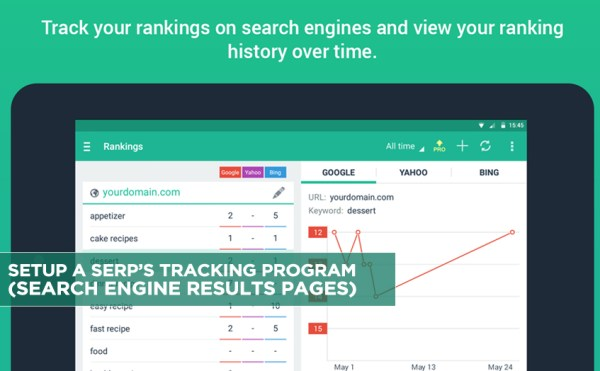 Setup a SERP's Tracking Program (Search Engine Results ...