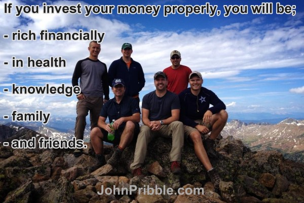 If You Invest Your Money Properly