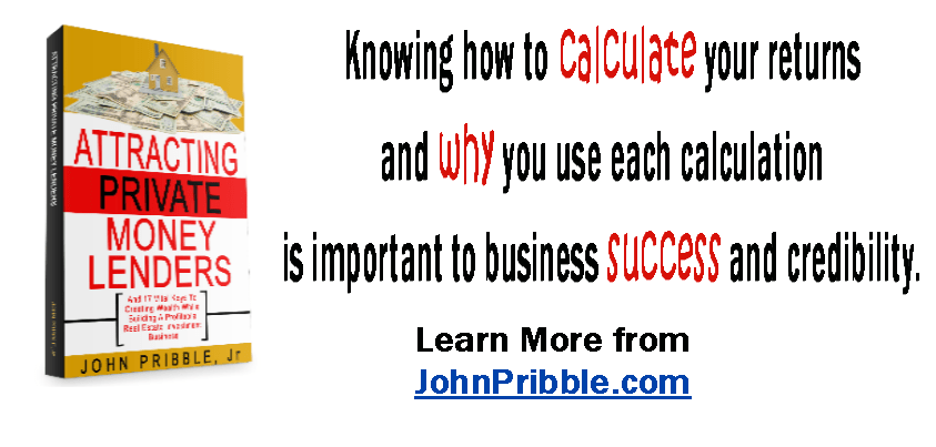 Knowing How to Calculate Your Returns