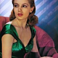 Hollywood Color Glamour Portraits: Marlene Dietrich, Elizabeth Taylor & Lana Turner.