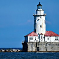 Chicago Harbor Lighthouse (1893).