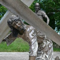 The Shrine of Christ's Passion in St. John, Indiana. (73 Photos). Video.