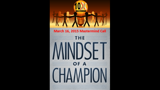 """Episode 11 – """"Mindset of a Champion"""" with Special Guest Coach Chuck Hammond"""